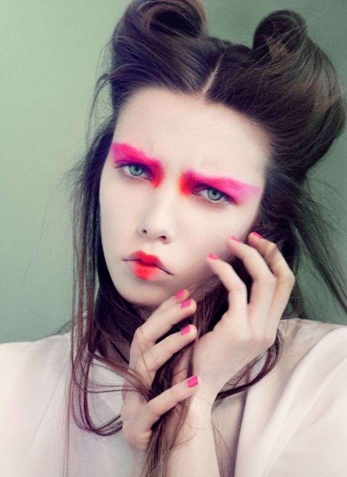 Make up da geisha rivisitato