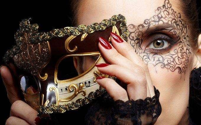 Make up occhi maschera di Carnevale
