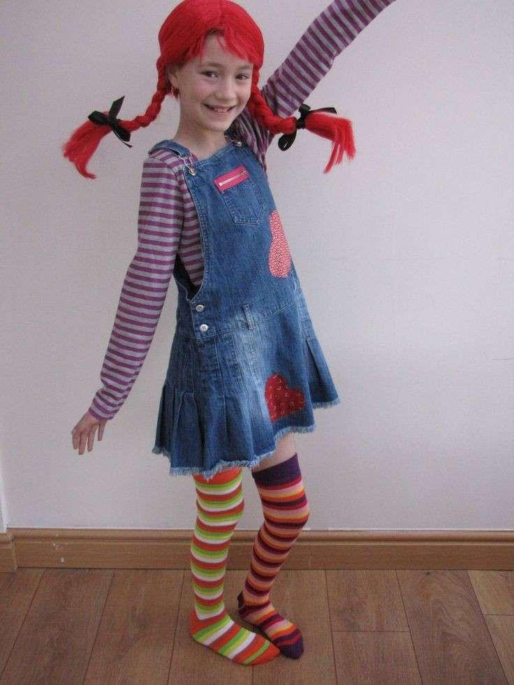 Pippi Calzelunghe per Carnevale