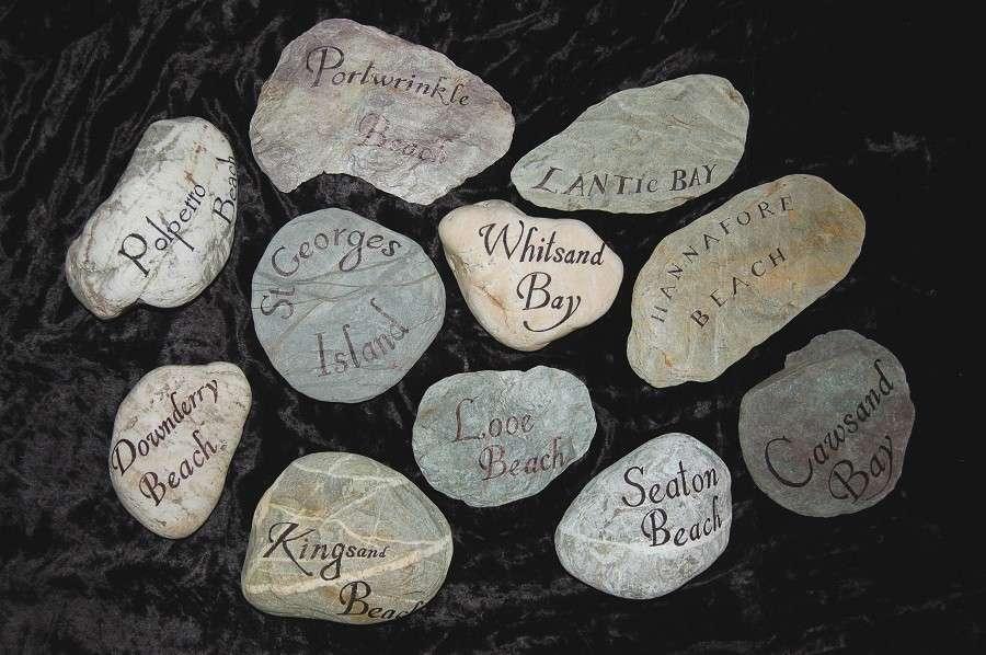 Segnaposto in pietra