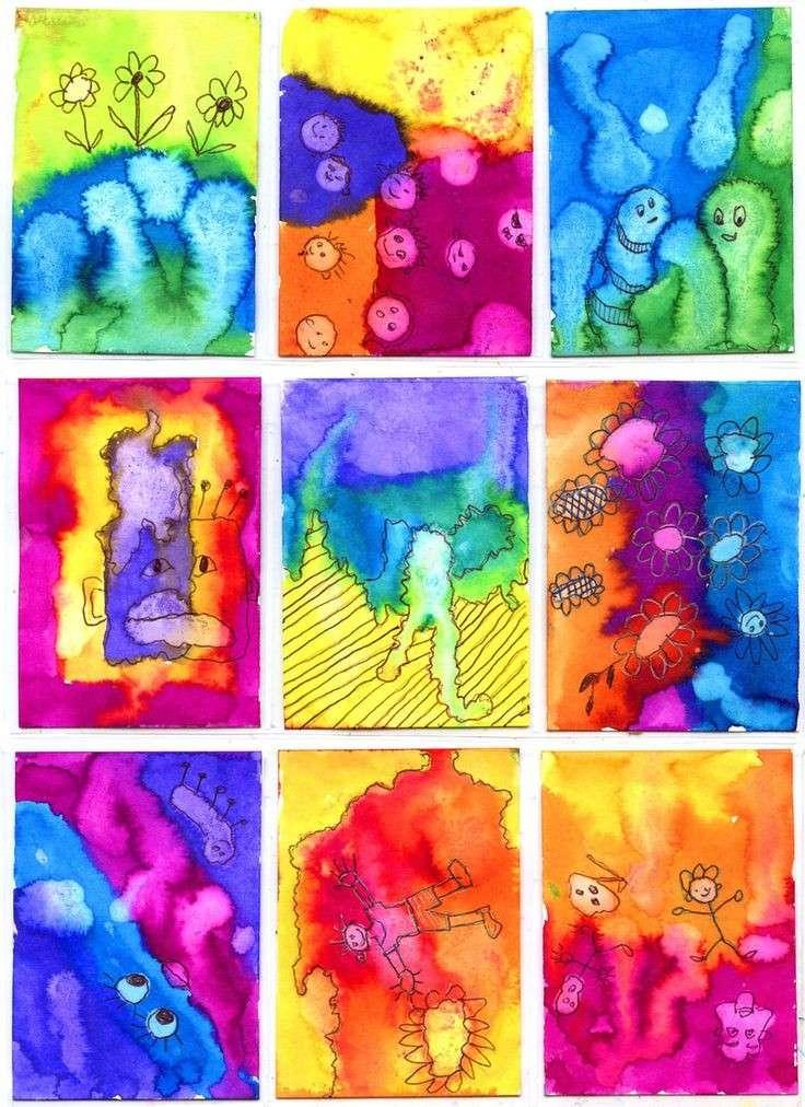 Dipinti coloratissimi