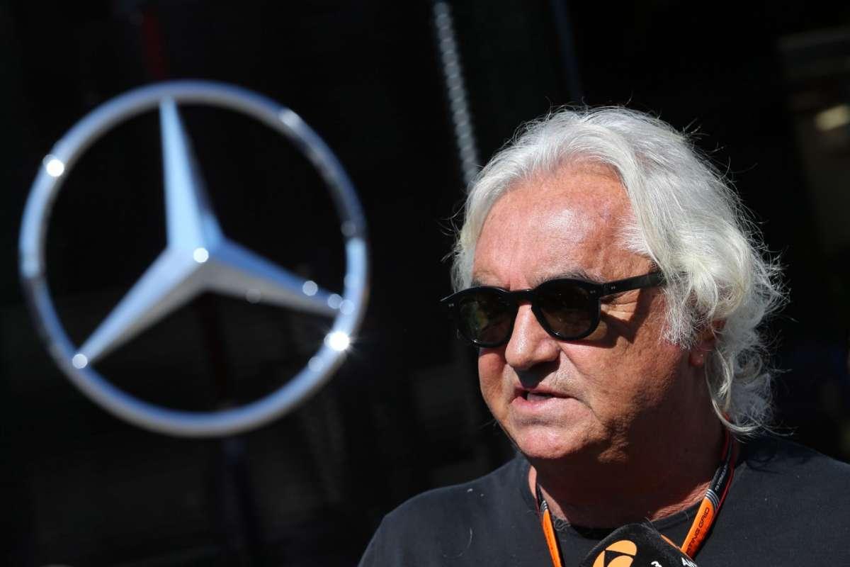 Il manager a un GP di F1