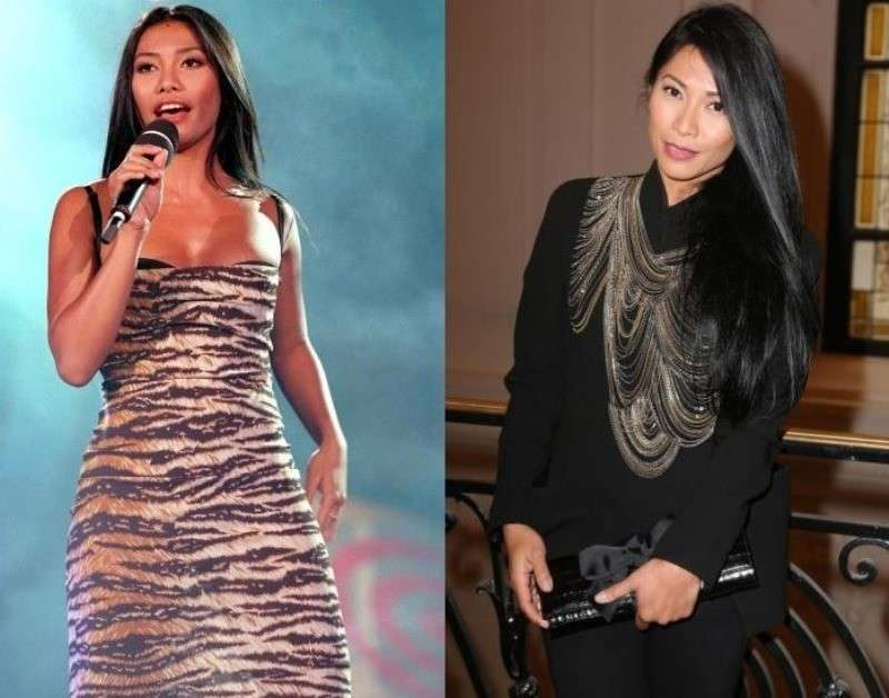 Anggun ieri e oggi