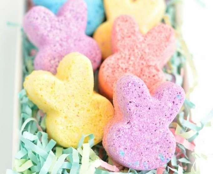 Coniglietti colorati