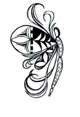 La farfalla Maori