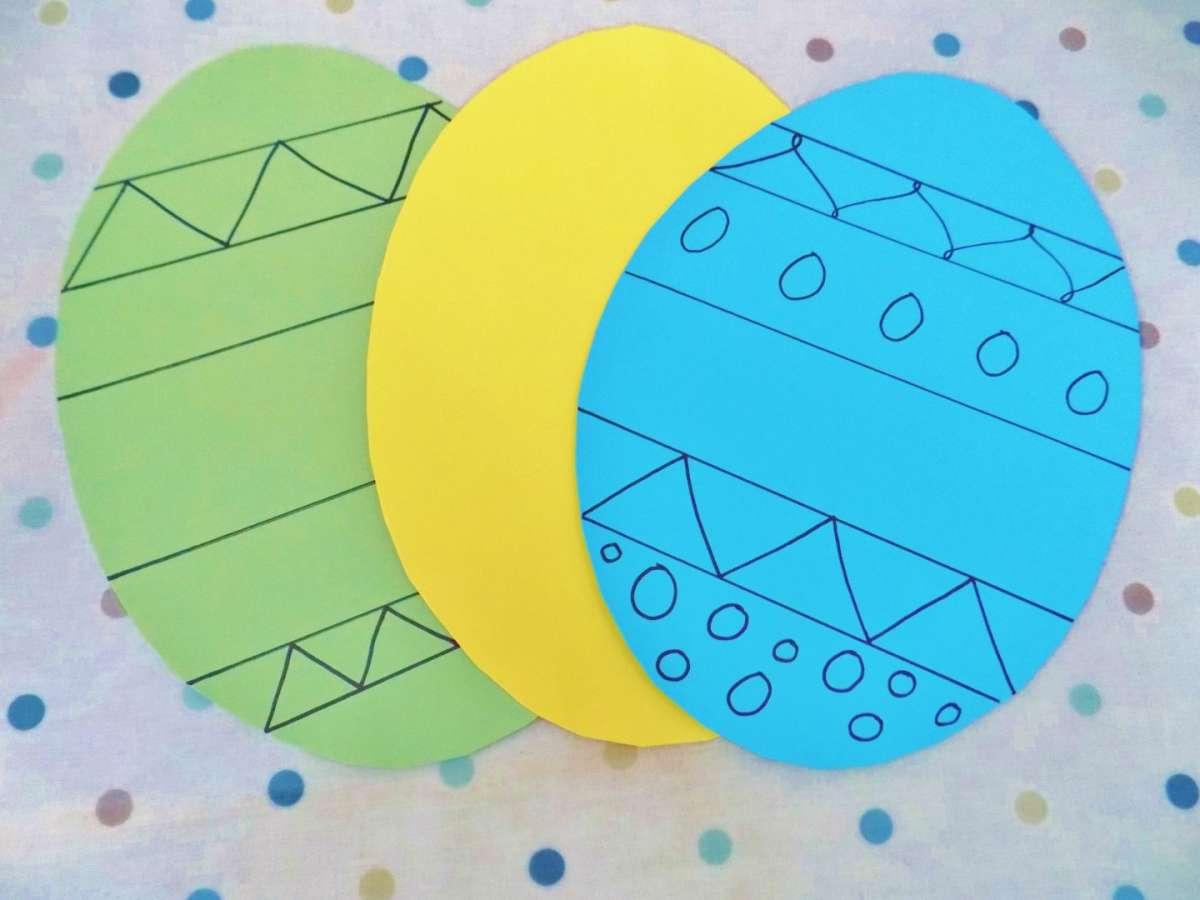 Uova di carta