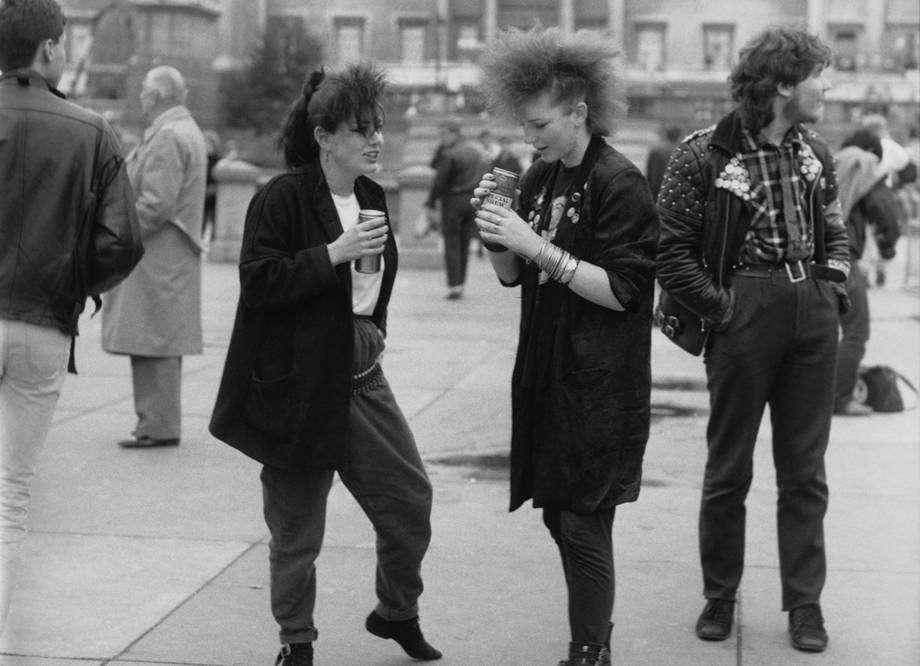I look punk negli anni '70