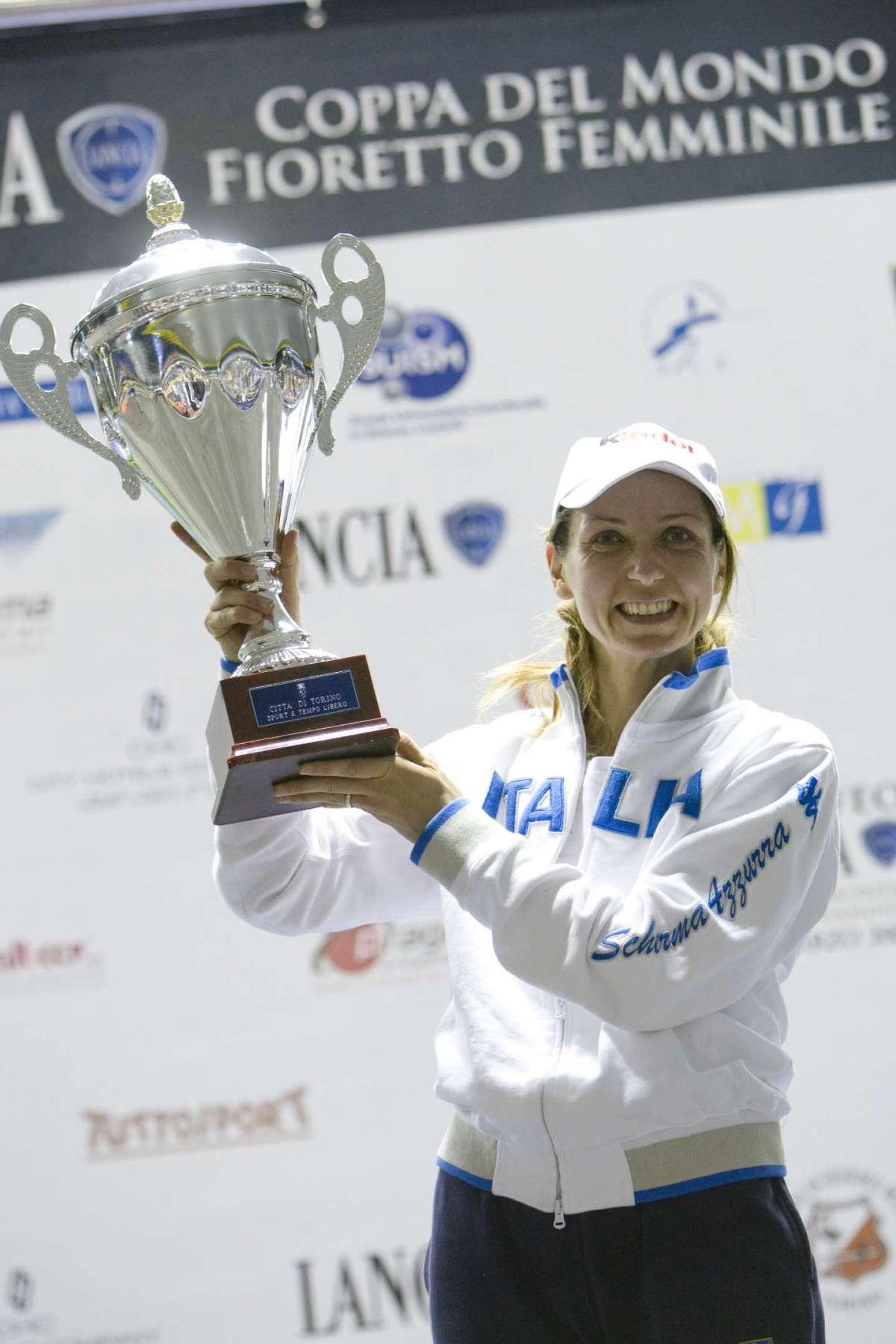 Il trionfo alla Coppa del Mondo di Scherma Fioretto Femminile 2009