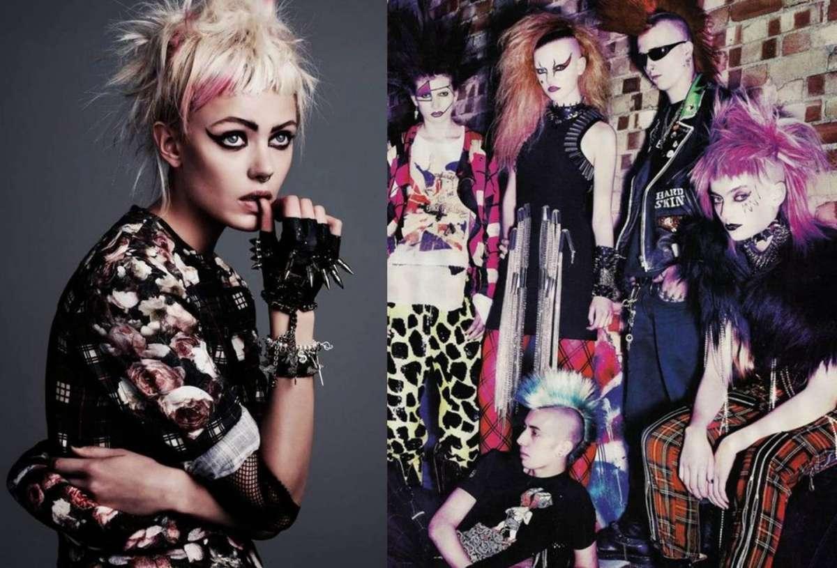 La moda punk moderna