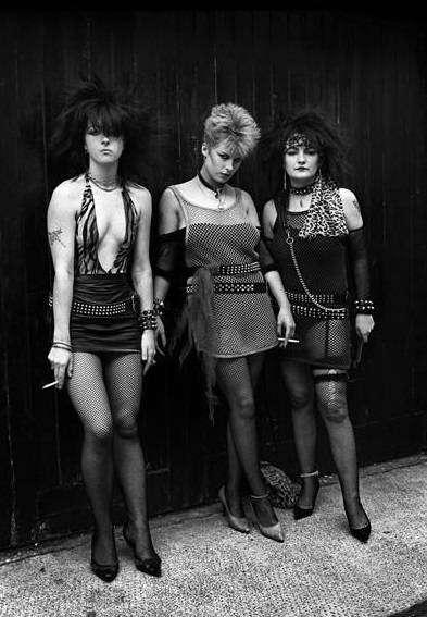 Lo stile punk negli anni '80