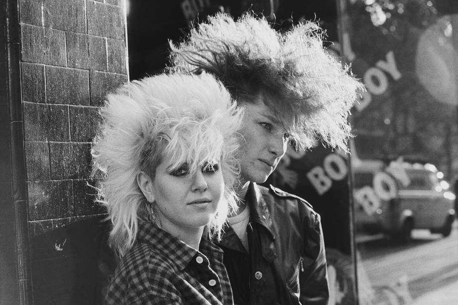 Look punk a Londra nel 1983