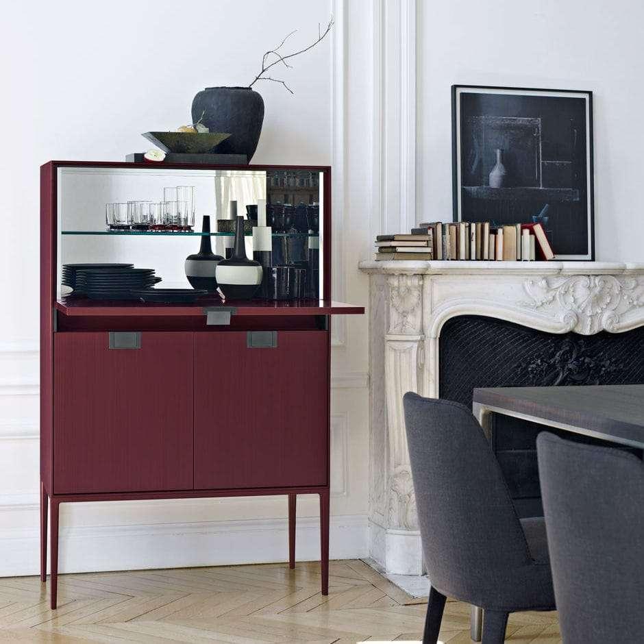 Angolo bar da salotto Alcor di Antonio Citterio