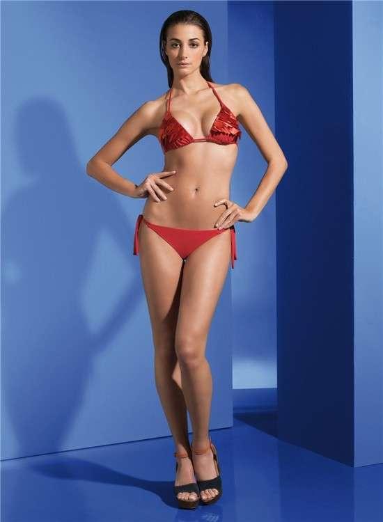 Bikini brasiliano Parah rosso