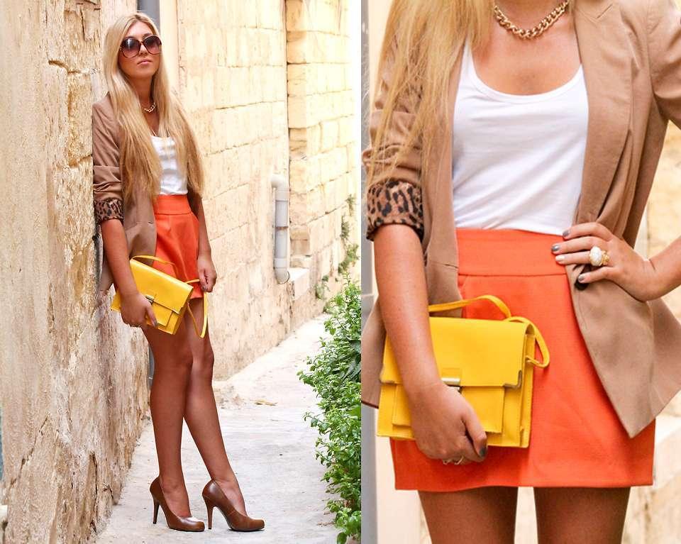 L'arancione e il giallo