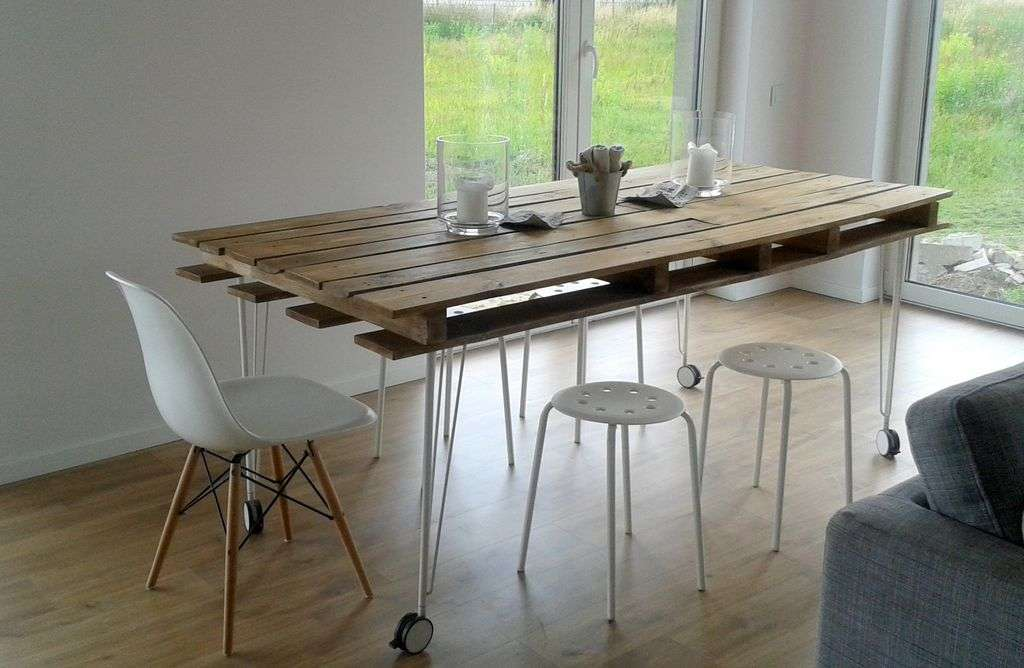 Trasformare le pedane in legno in mobili per la casa
