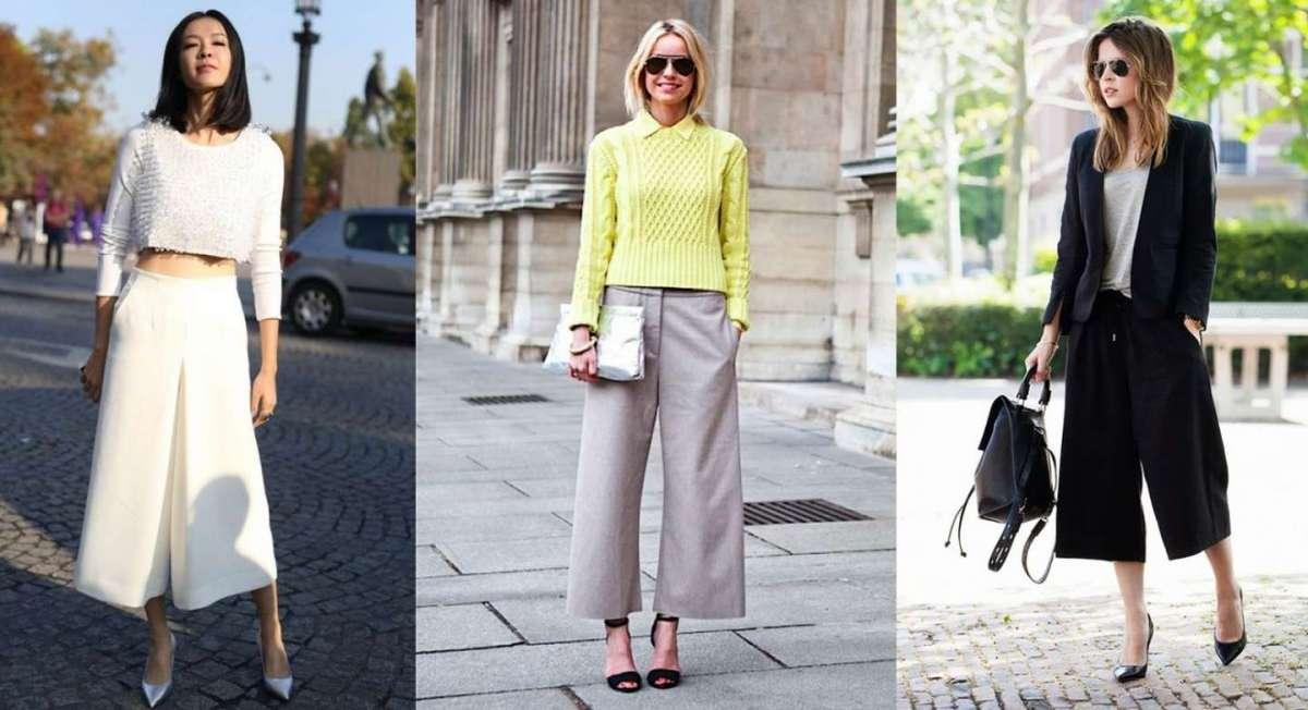 Abbinare i pantaloni culotte