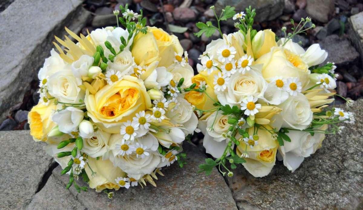 Bouquet bicolore