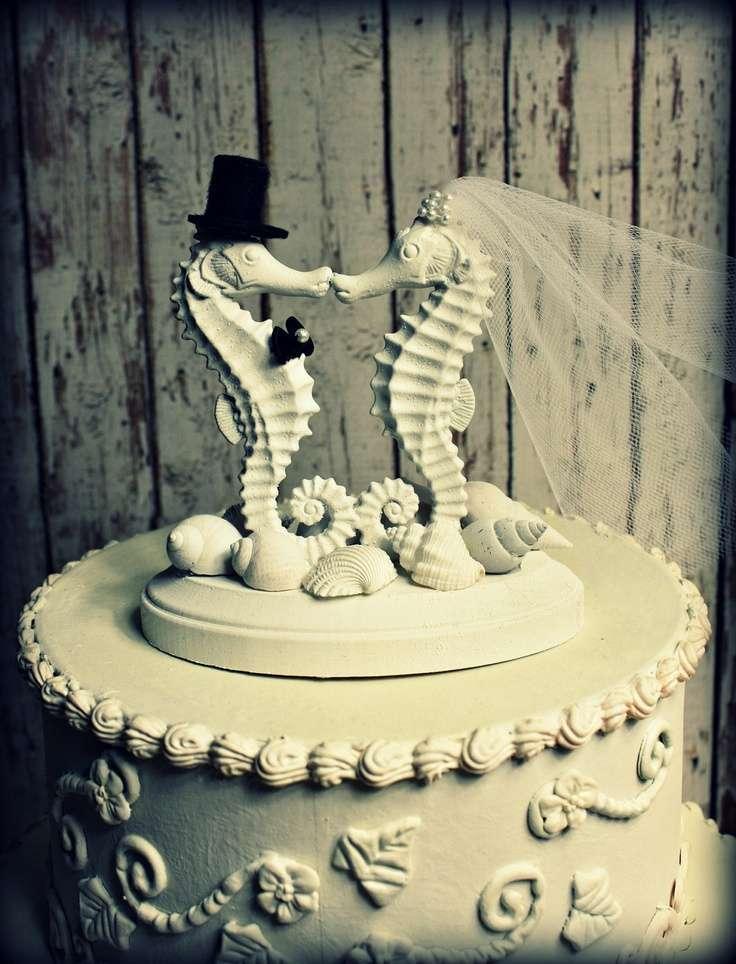 Cake topper a tema mare