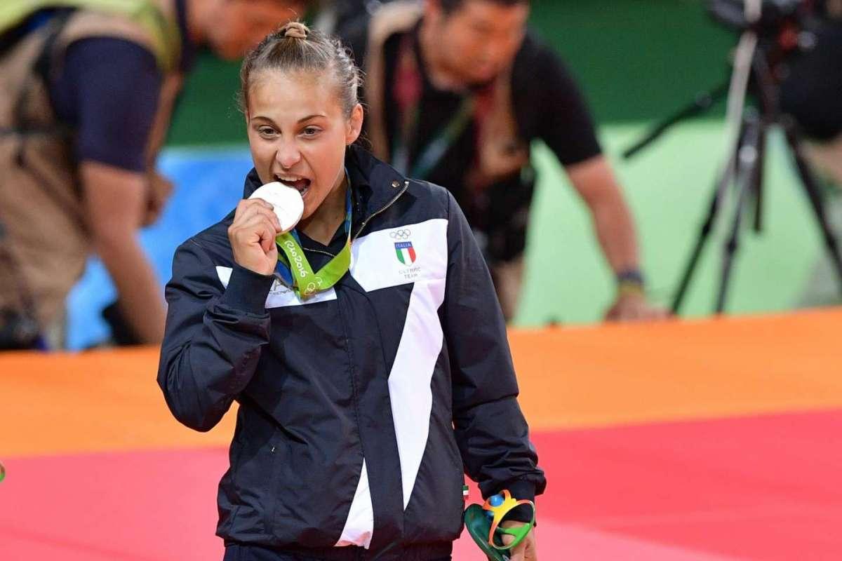 Odette Giuffrida esordio d'argento nel judo