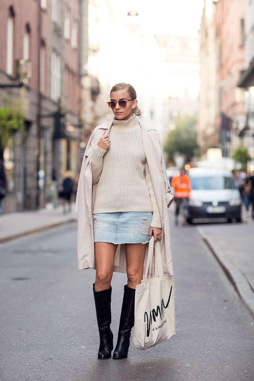 Outfit in toni chiari