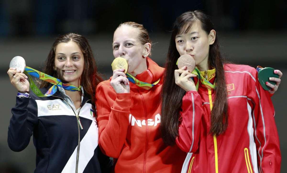 Rossella Fiamingo la prima italiana sul podio di Rio