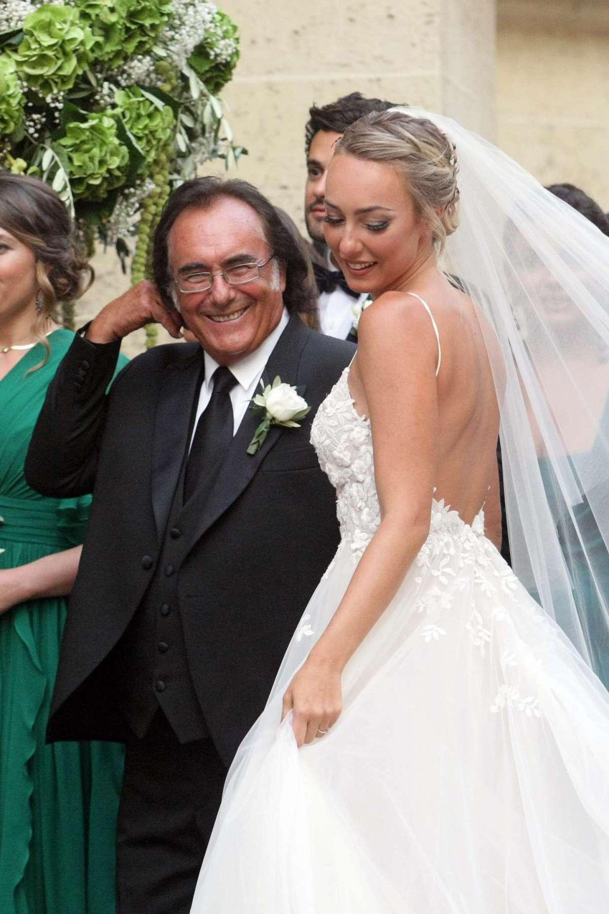 Albano con la figlia Cristel Carrisi