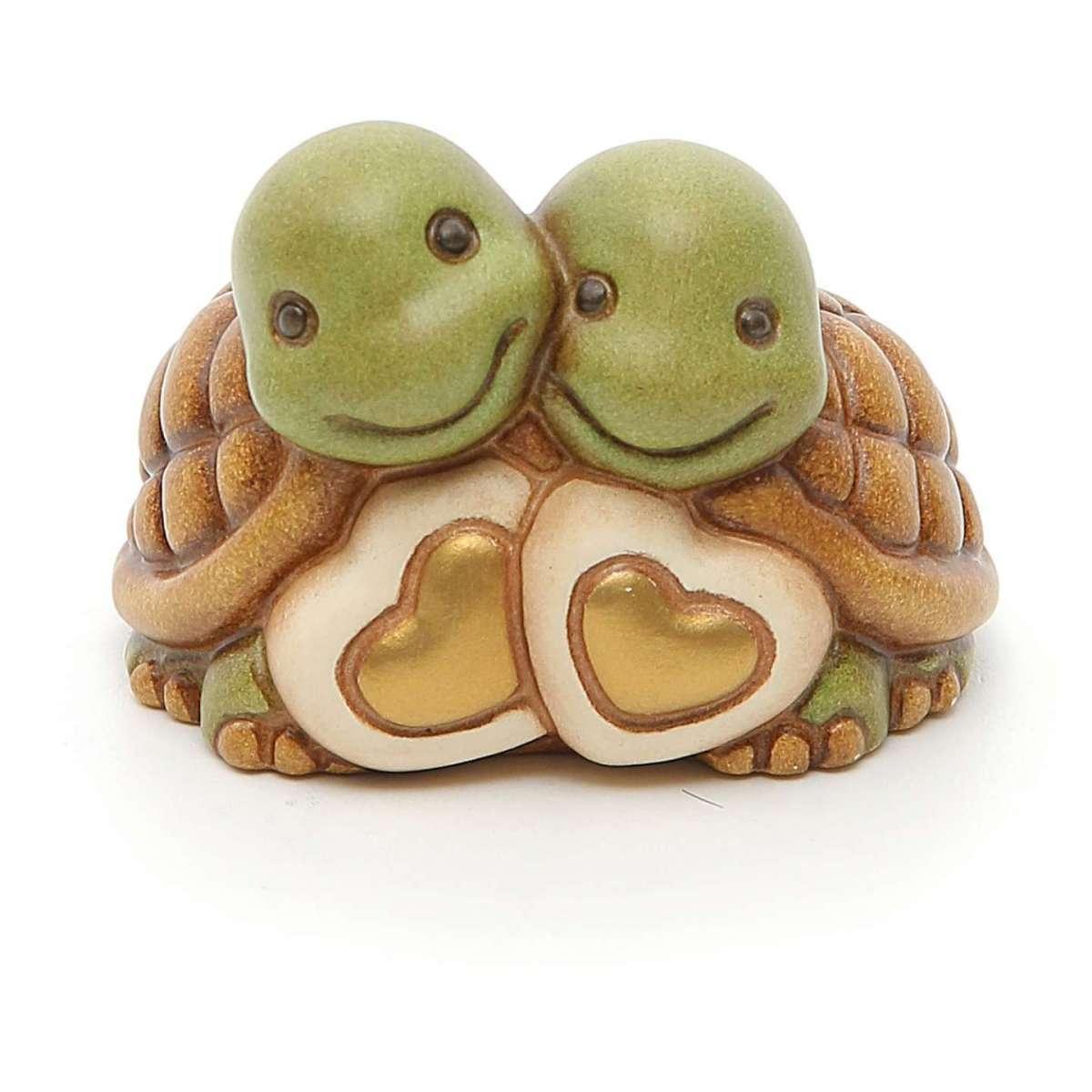 Coppia di tartarughe con cuori Thun