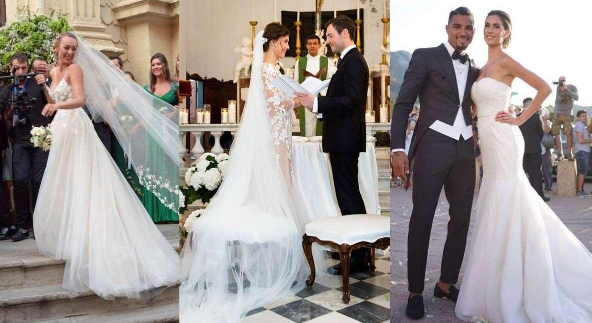 Gli abiti da sposa delle star nel 2016