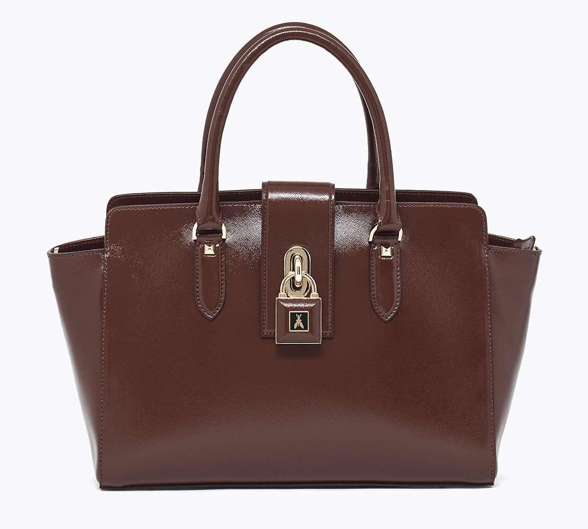 Handbag marrone Patrizia Pepe