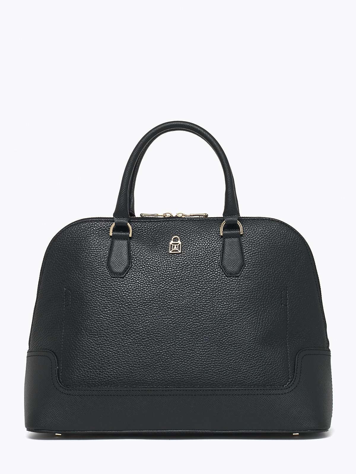 Handbag nera Patrizia Pepe