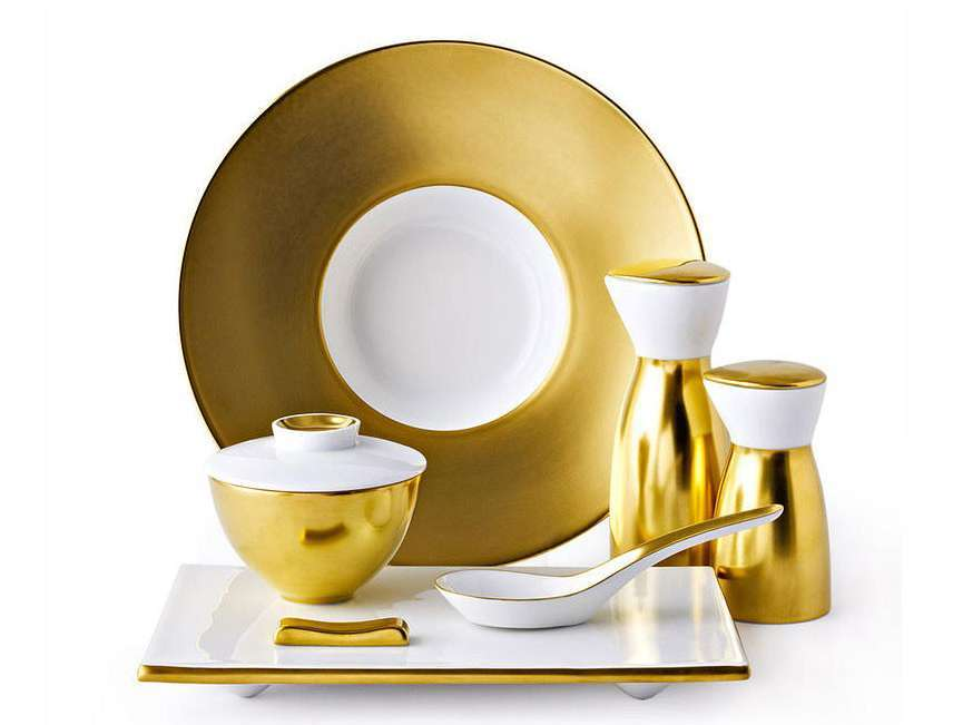 Piatti in oro