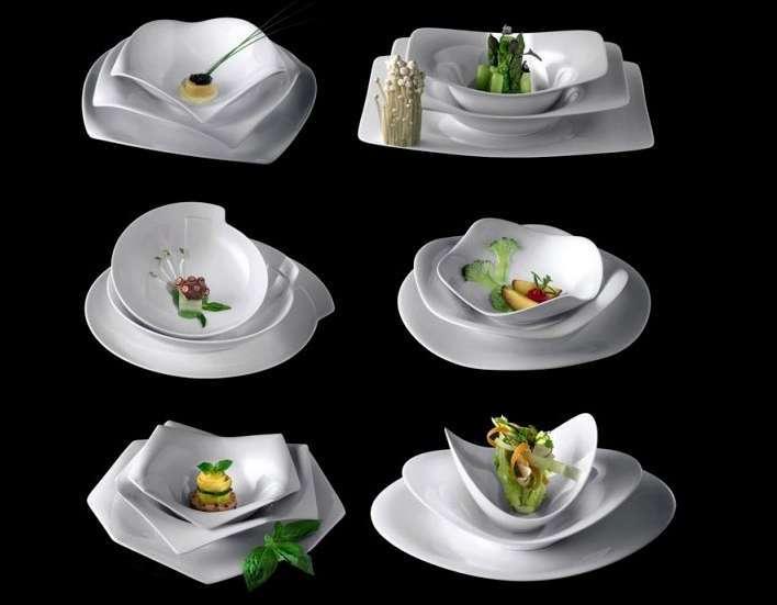 Servizio piatti originale