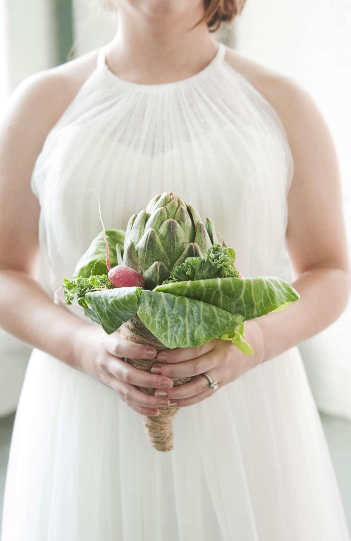 Bouquet di insalata e cavolfiori