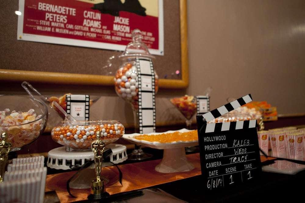 Catering per matrimonio a tema cinema