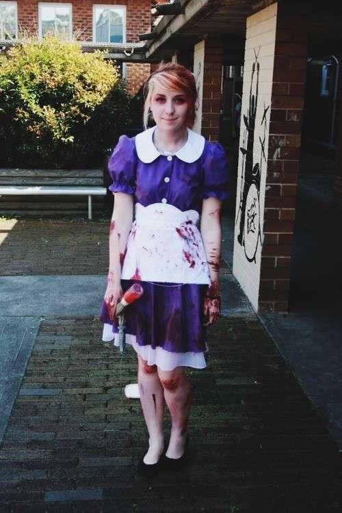 Costume da Alice Zombie