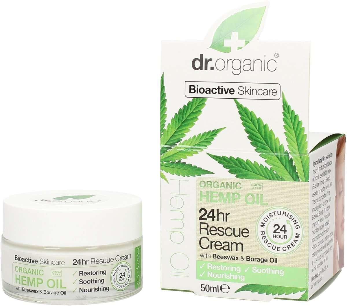 Crema idratante 24h Dr Organic