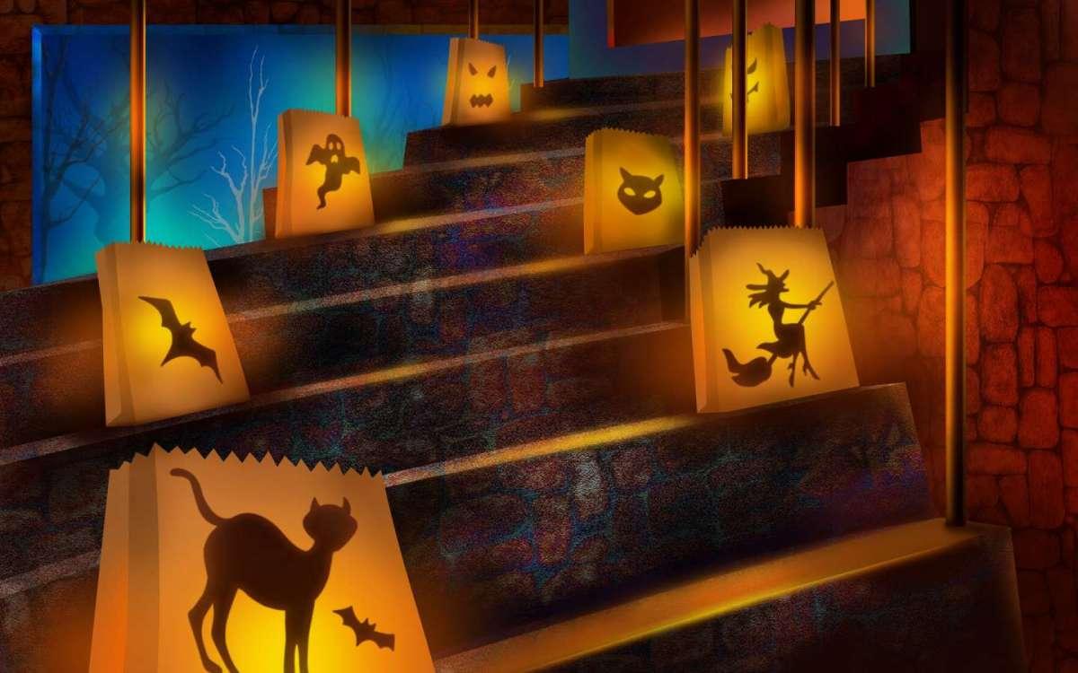 Decorare la casa per Halloween