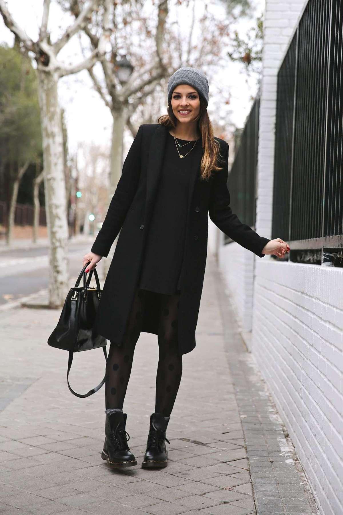 Look in total black