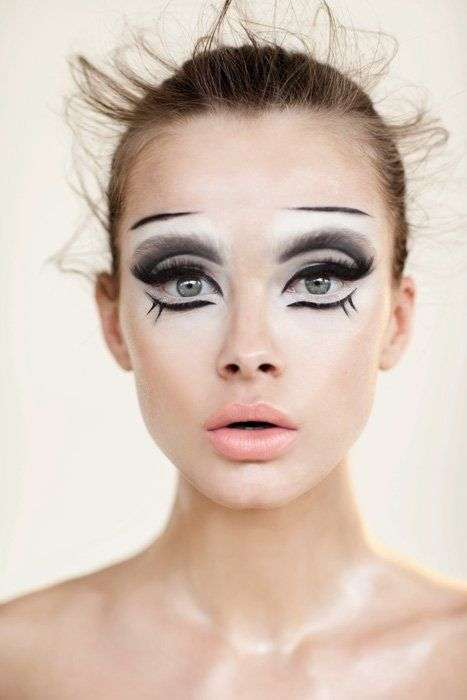 Make up chic per Halloween