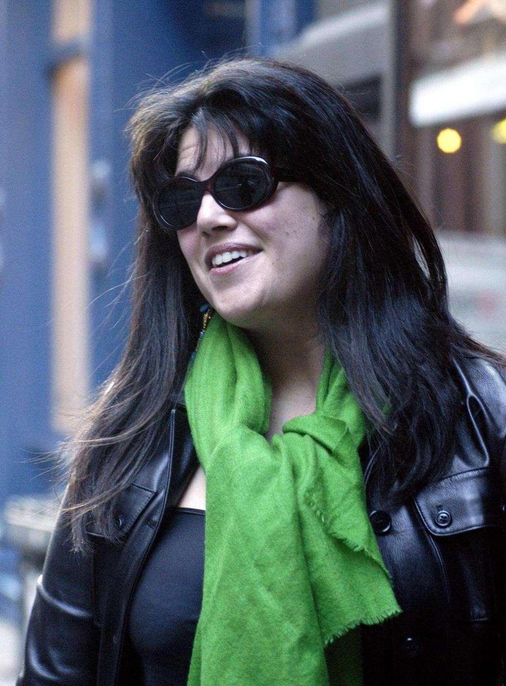 Monica Lewinsky a spasso