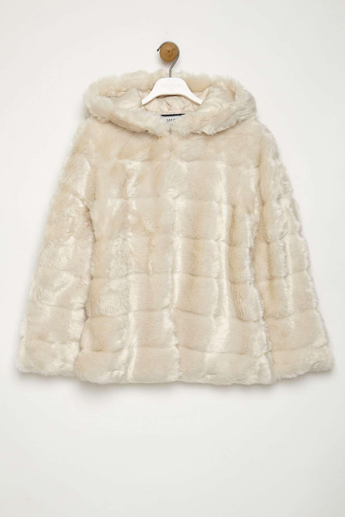 Pellicciotto bianco Terranova