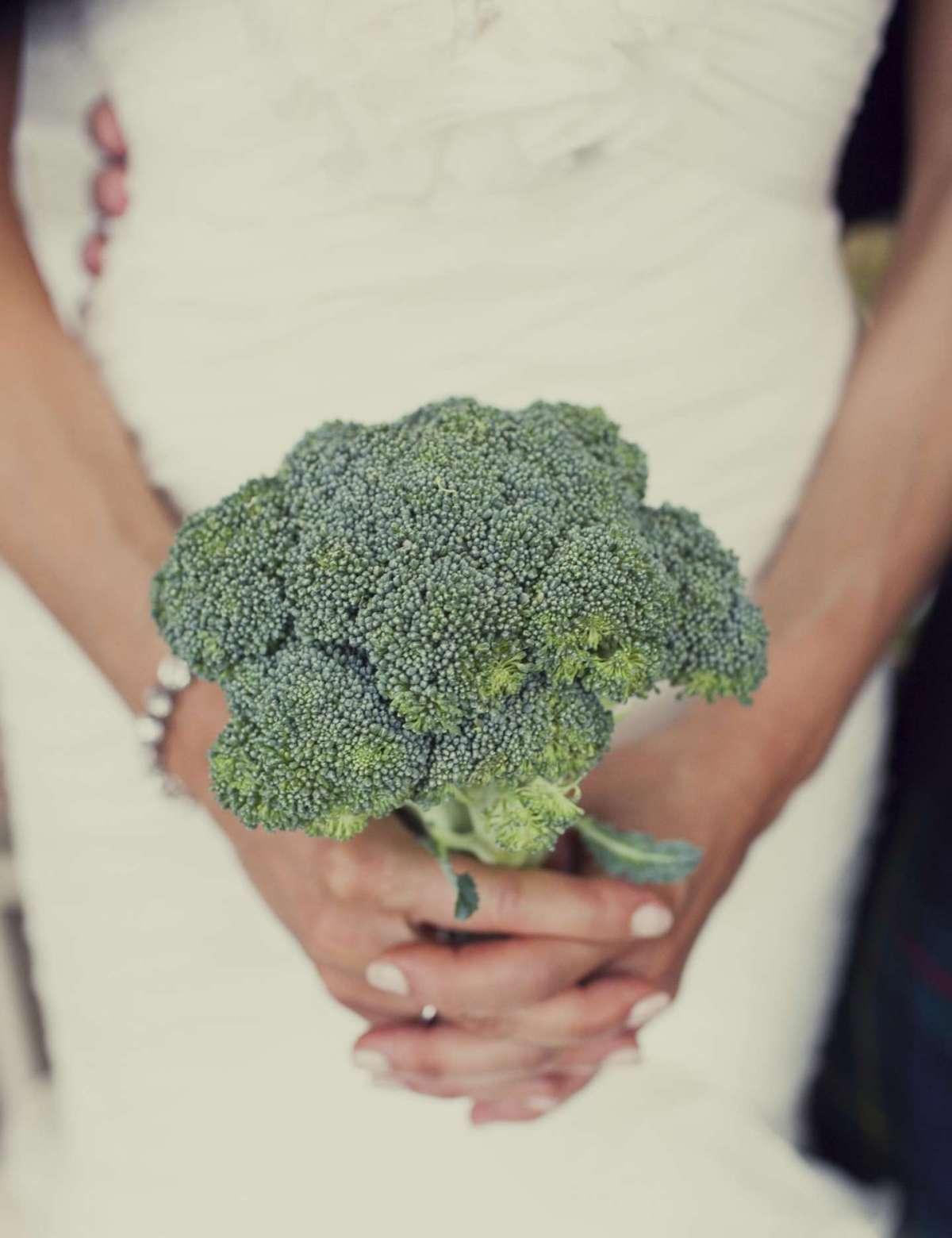 Piccolo bouquet con broccoli