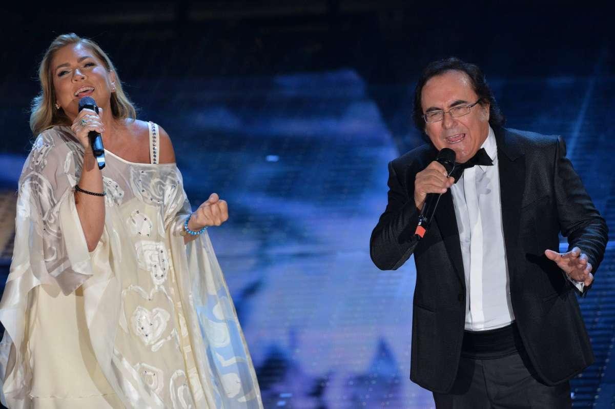 Albano Carrisi e Romina Power cantano insieme al Teatro Ariston