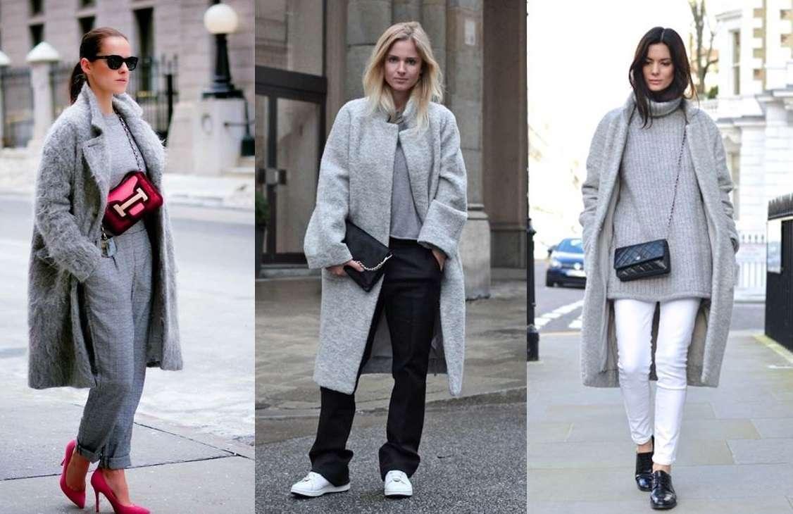 Come abbinare il cappotto grigio