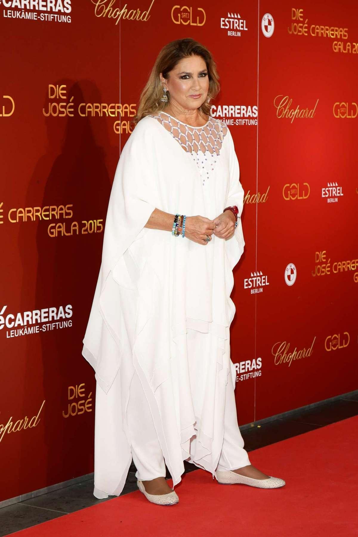 La cantante americana al José Carreras Gala