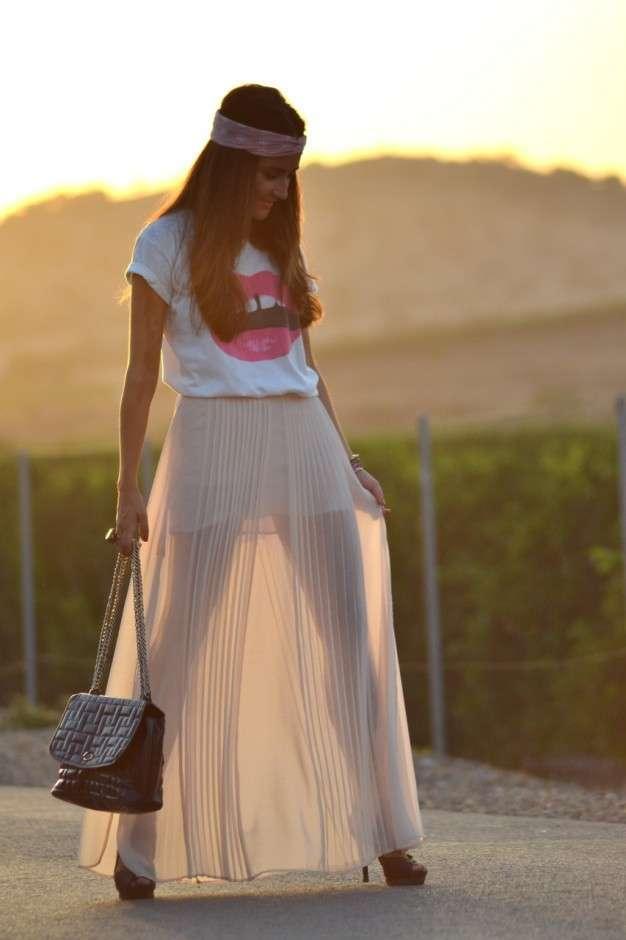 Look in stile seventies