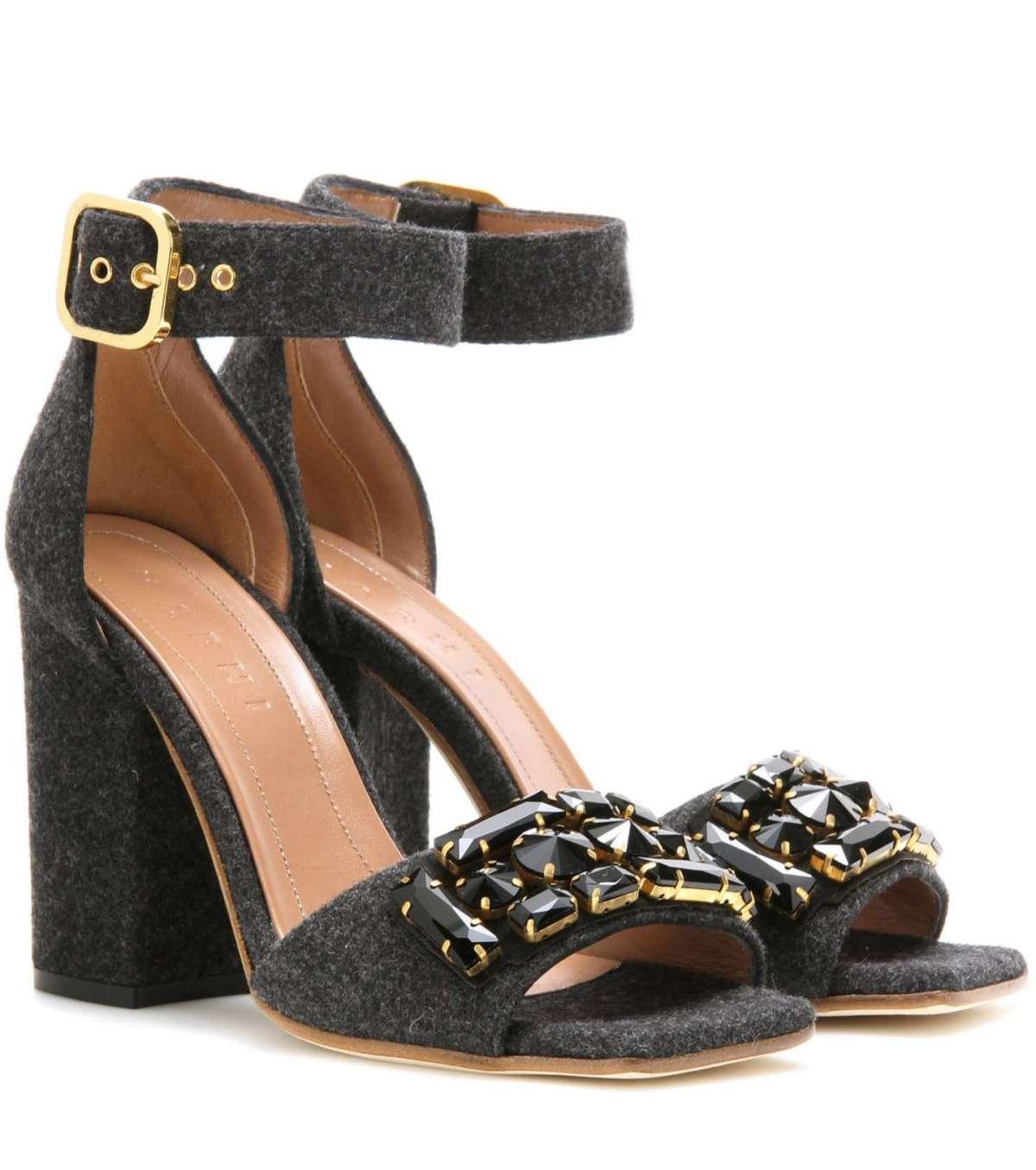 Sandali gioiello Marni