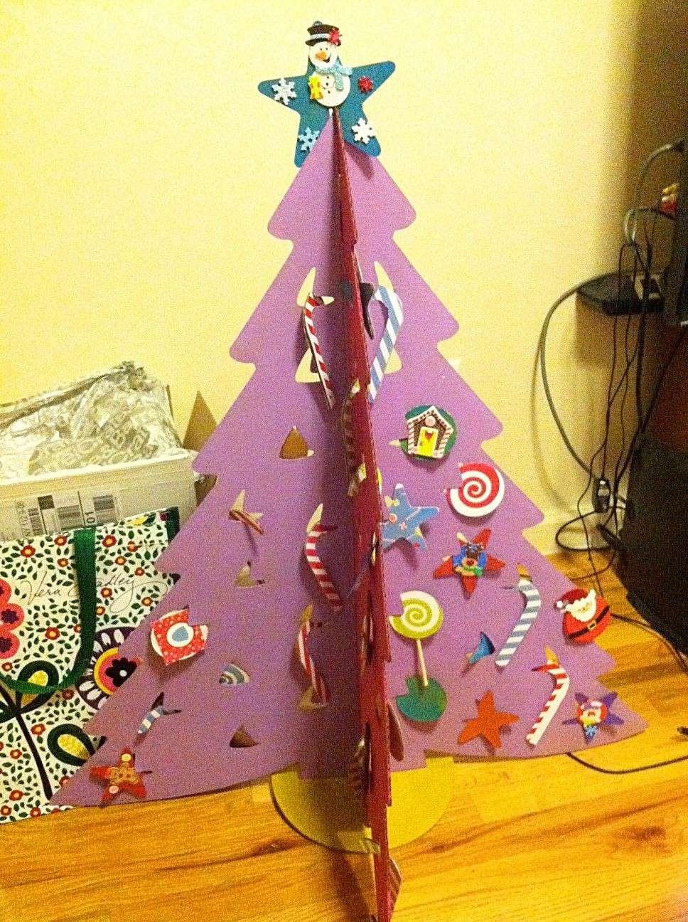 Albero Natale carta bambini