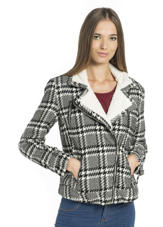 Cappotto bicolor Alcott