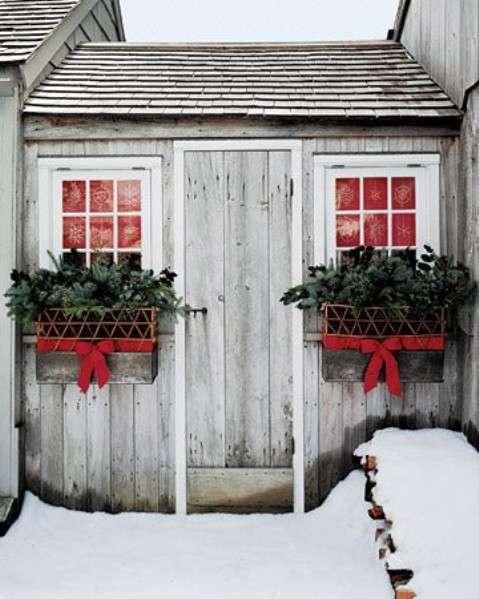 Decorazioni natalizie per esterno